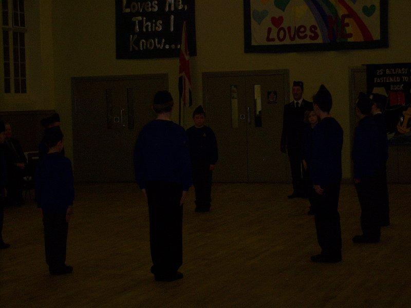Junior Section Company Display 2012/253